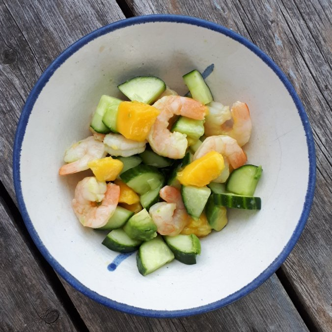 The Simple Shrimp, Mango & Avocado Summer Salad
