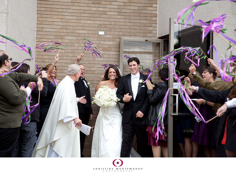 Have a fun wedding exit  use ribbon wands  Pittsburgh