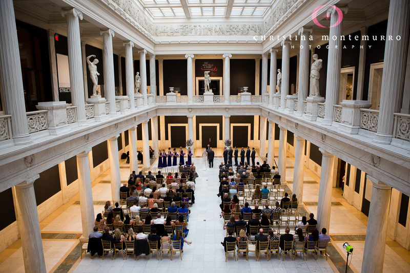 Amber and Jerads Wedding  Carnegie Museum Pittsburgh