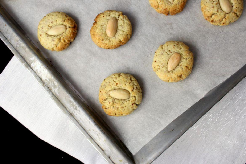 portugiesische Mandel Marzipan Kekse