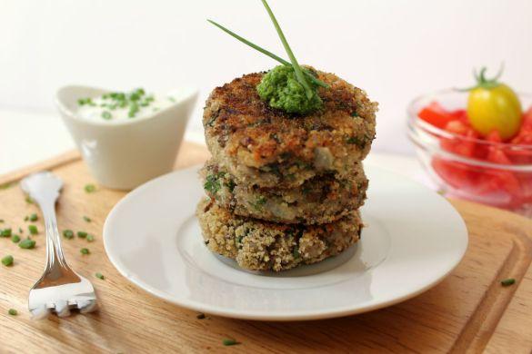Bohnen Reislaibchen vegetarisch