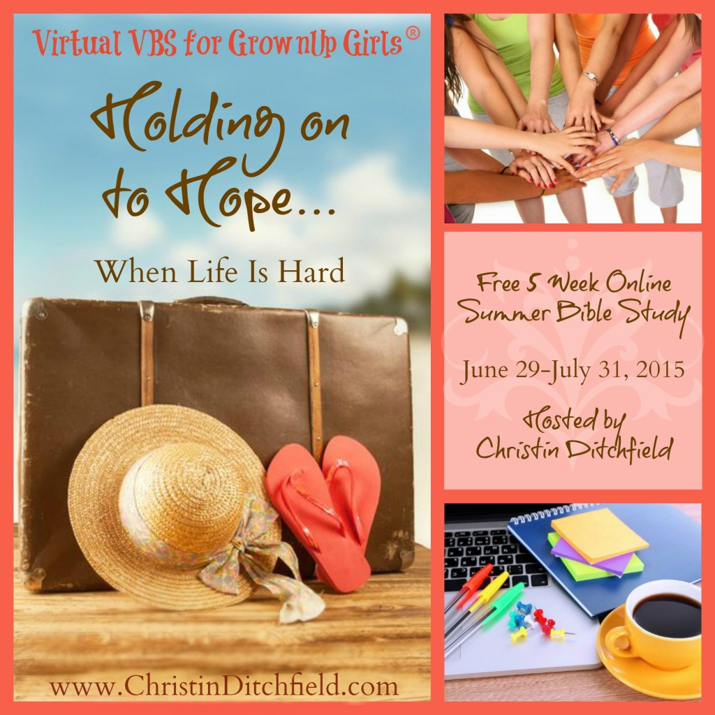Virtual VBS for GrownUp Girls 2015