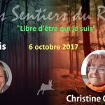 Webconférence le 6/10: interview de Christine par les Sentiers du Réel
