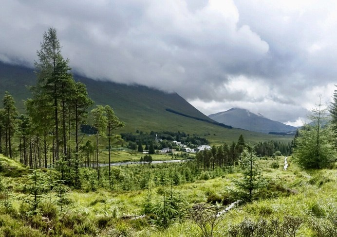 A view of the Scottish Highlands from the West Highland Way