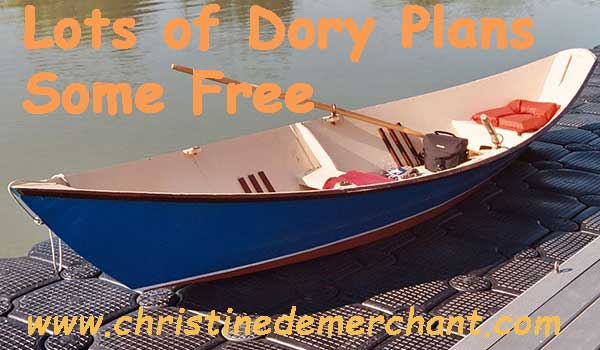 Power Dory Boat Plans