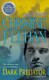 Dark Predator in paperback by Christine Feehan