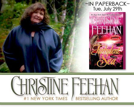 Turbulent Sea by Christine Feehan is in stores!
