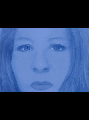Christine disegno blu 3
