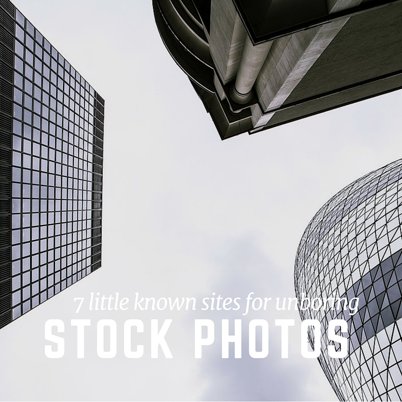 7 Little Known Sites for Unboring Stock Photos