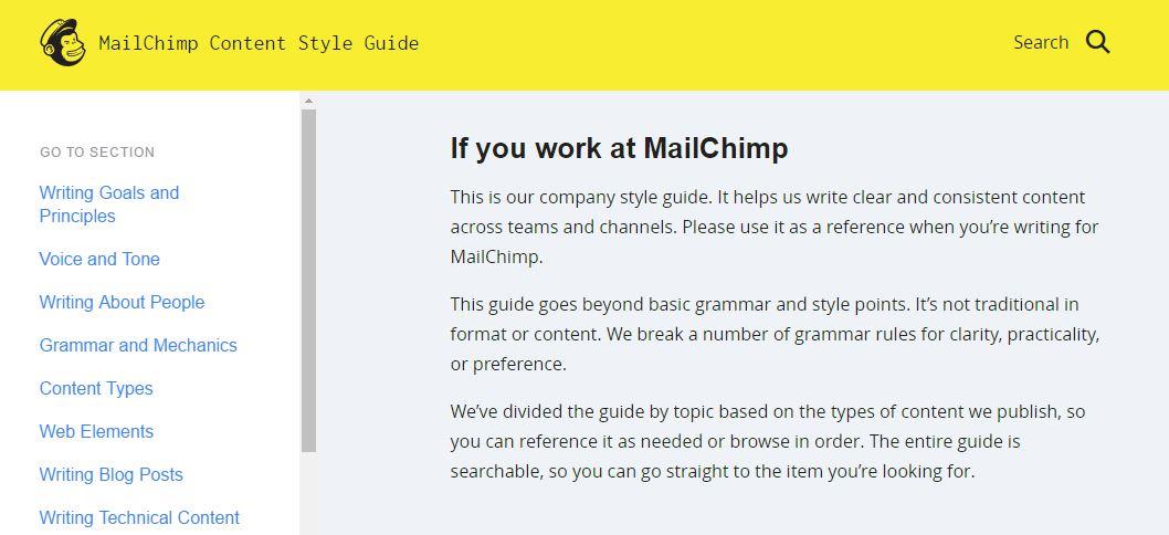 mailchimp-style