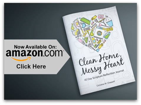 Clean Home Messy Heart Journal on Amazon TSP
