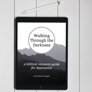 Biblical resources for depression