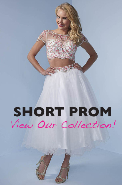 View the Christine's Bridal collection of short prom dresses, winter carnival dresses and homecoming dresses here!
