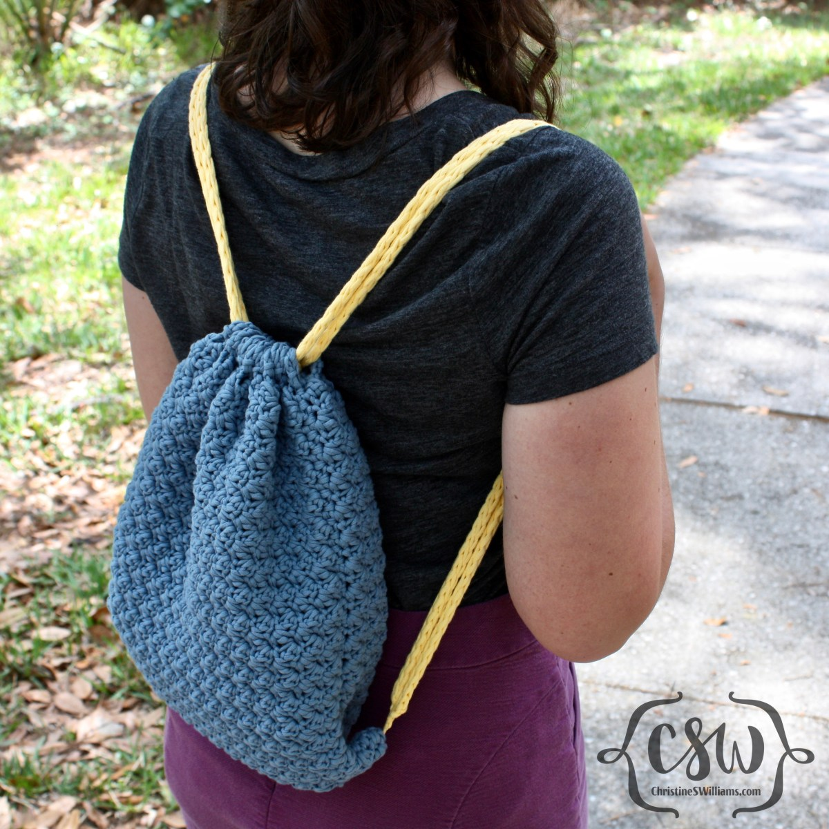 Summer Drawstring Backpack