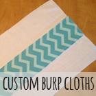 Custom Burp Cloths