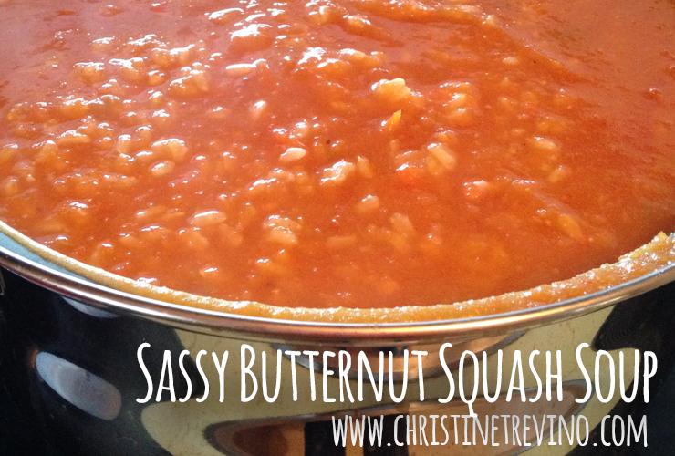 Sassy Butternut Squash Soup