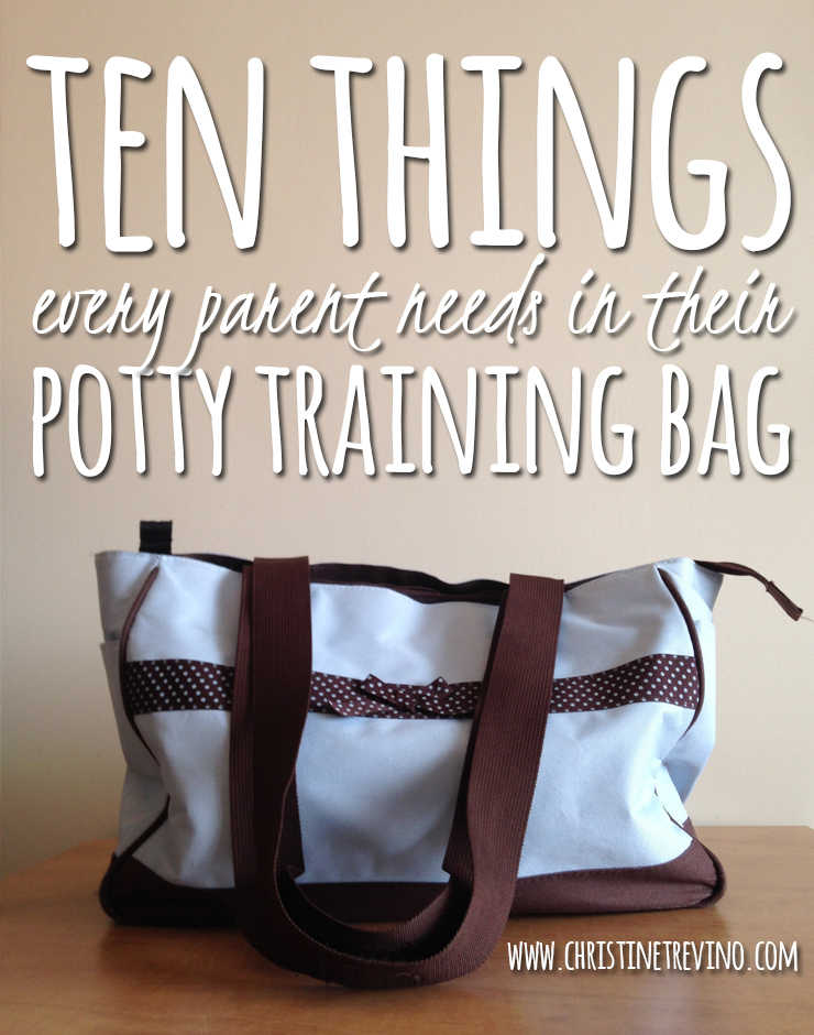 Ten Things Every Parent Needs in their Potty Training Bag