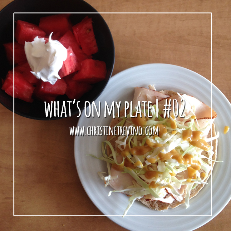 What's on My Plate | #02