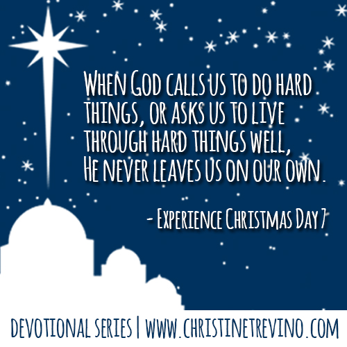 Safe Place [Experience Christmas Quote]