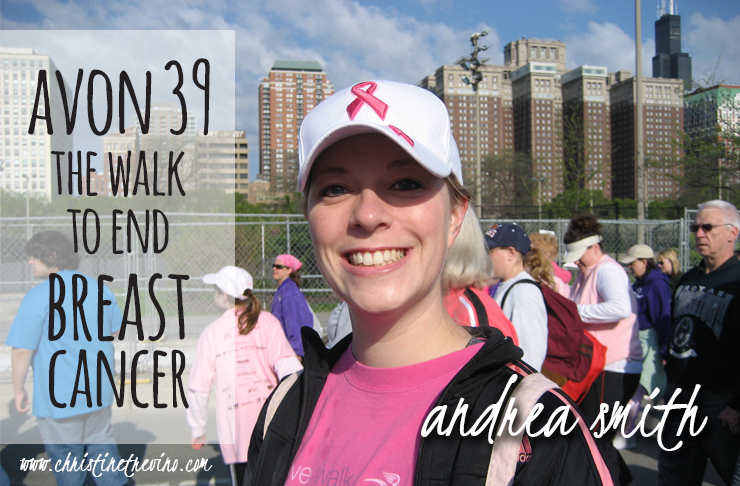 AVON 39 The Walk to End Breast Cancer | Interview with Andrea Smith