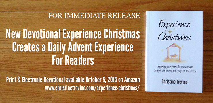 experience christmas press release - Christmas Devotional Stories