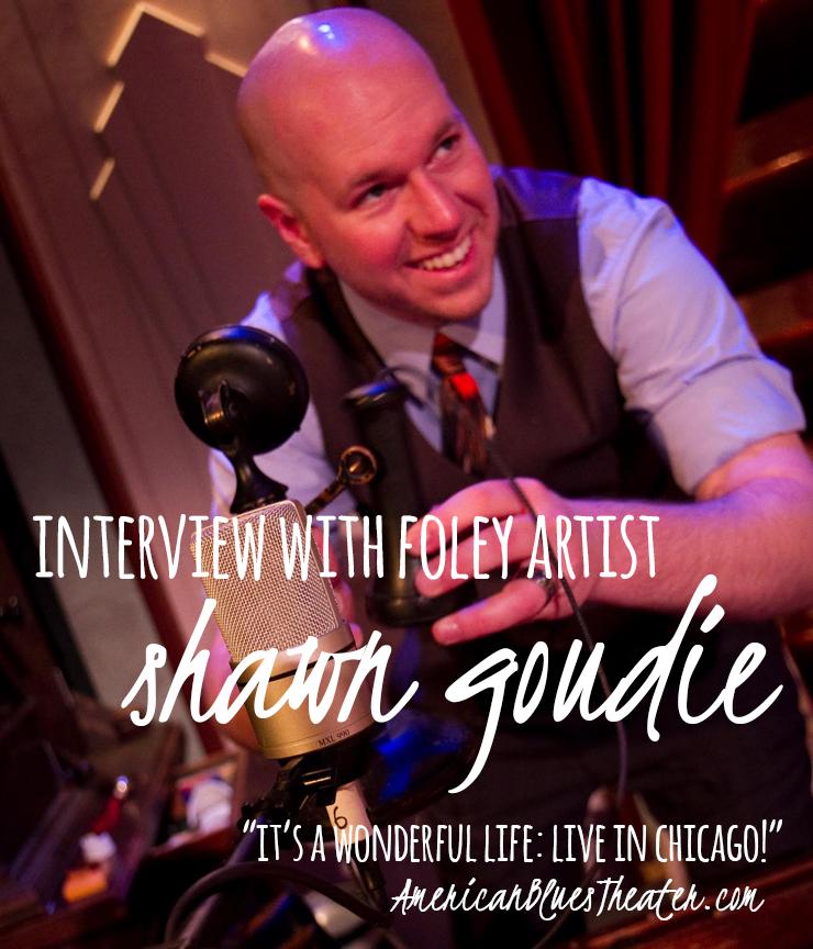 Foley artist Shawn Goudie. Photo by Johnny Knight.