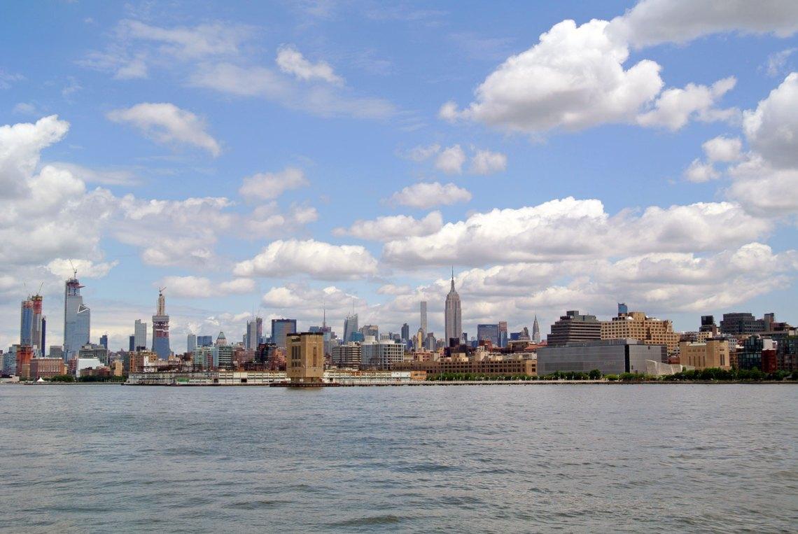New York vom Wasser aus