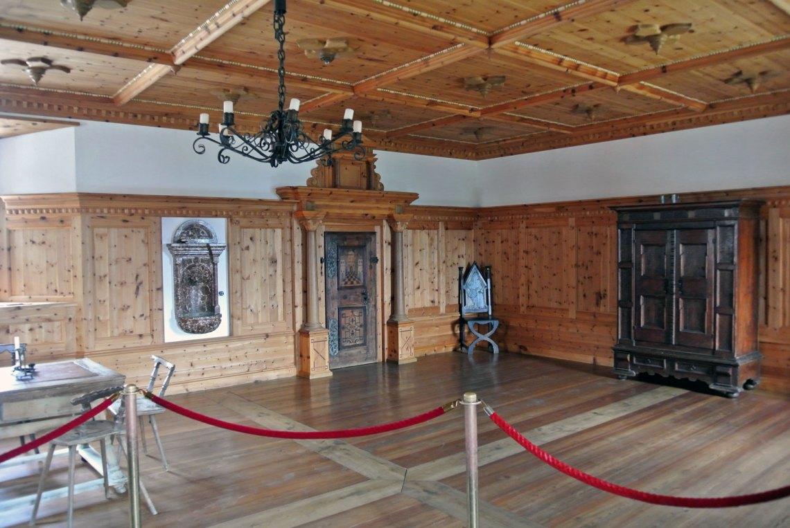 Fürstenzimmer Burg Hohenwerfen