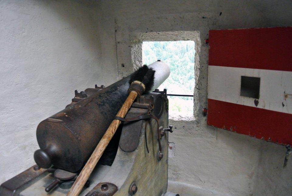 Kanone Burg Hohenwerfen