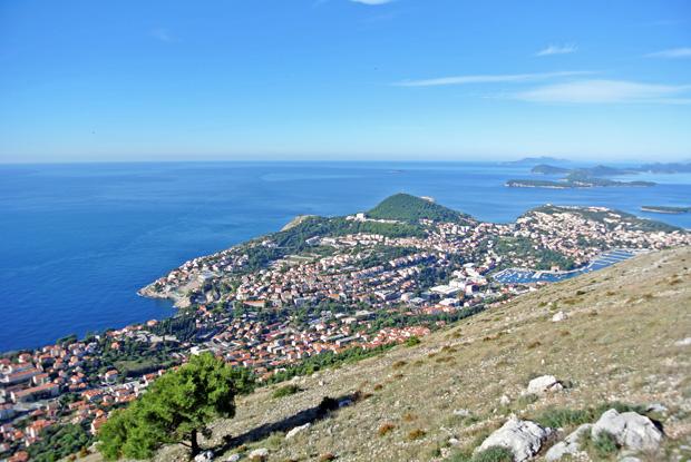 Ausblick Srd Dubrovnik