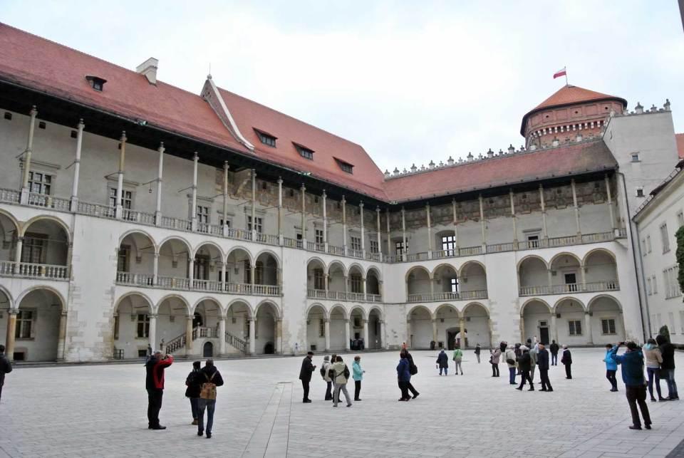 Schloss Wawel Krakau