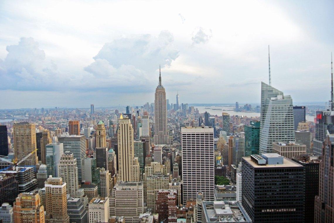 Fotoparade - Meine schönsten Bilder aus 2018: New York Rockefeller Center