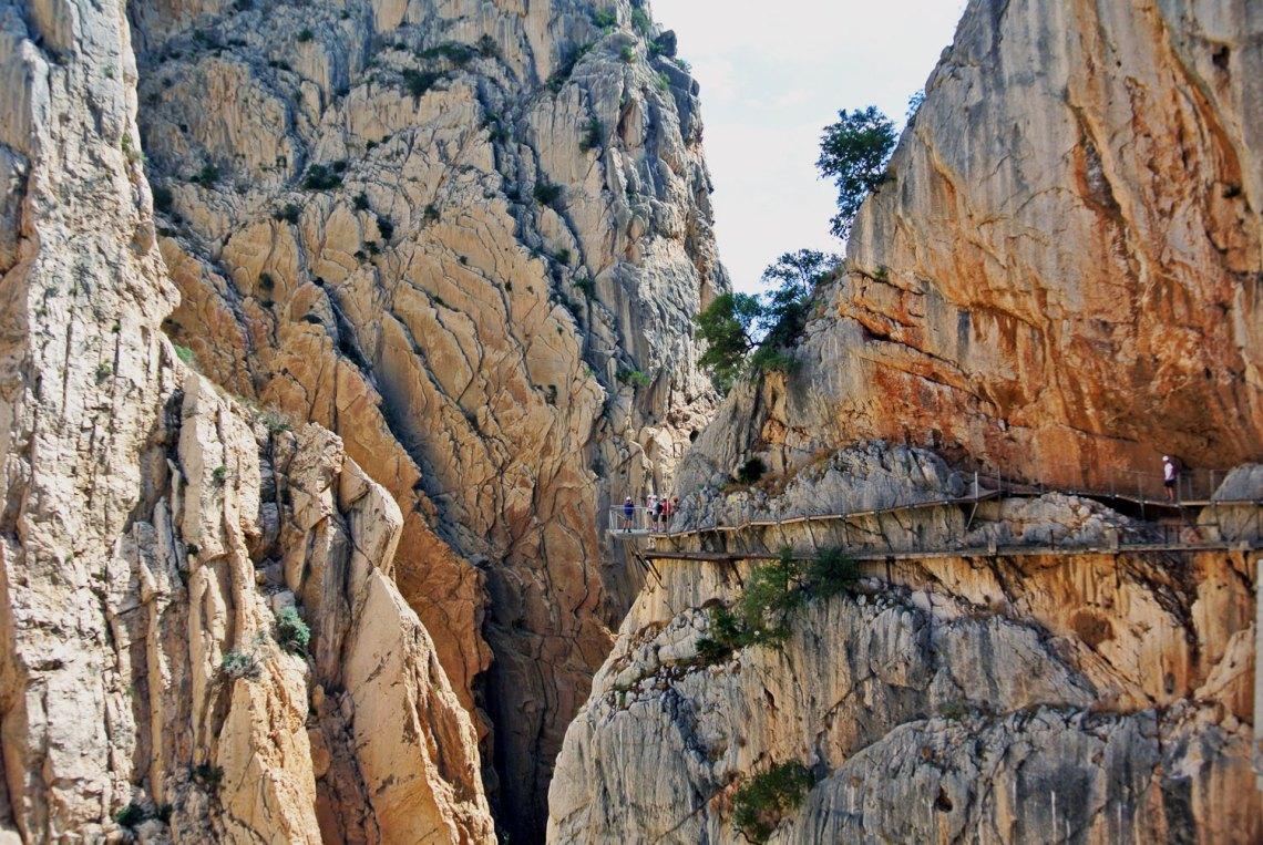 Fotoparade - Meine schönsten Bilder aus 2018: Caminito del Rey Andalusien Spanien