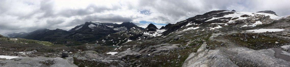 Panorama Weißsee Gletscherwelt