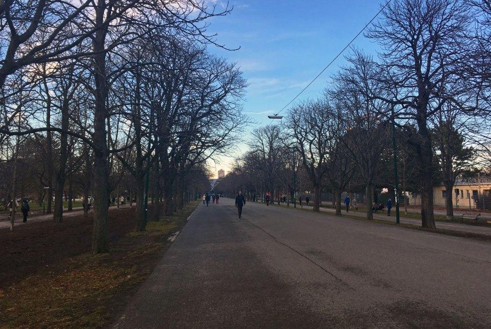 Wiener Stadtwanderweg 9 Prater