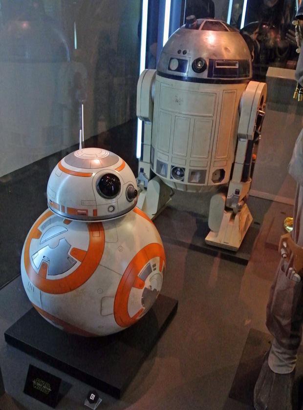 Star Wars Identities Wien R2D2 und BB-8