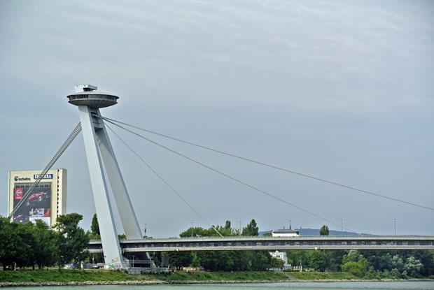 Nový most in Bratislava