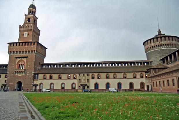 Castello Sforzesco Mailand