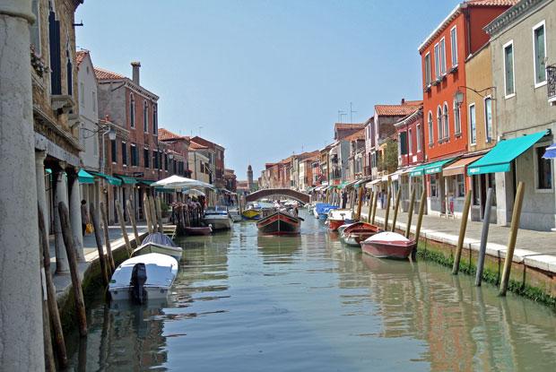 Der Kanal in Murano