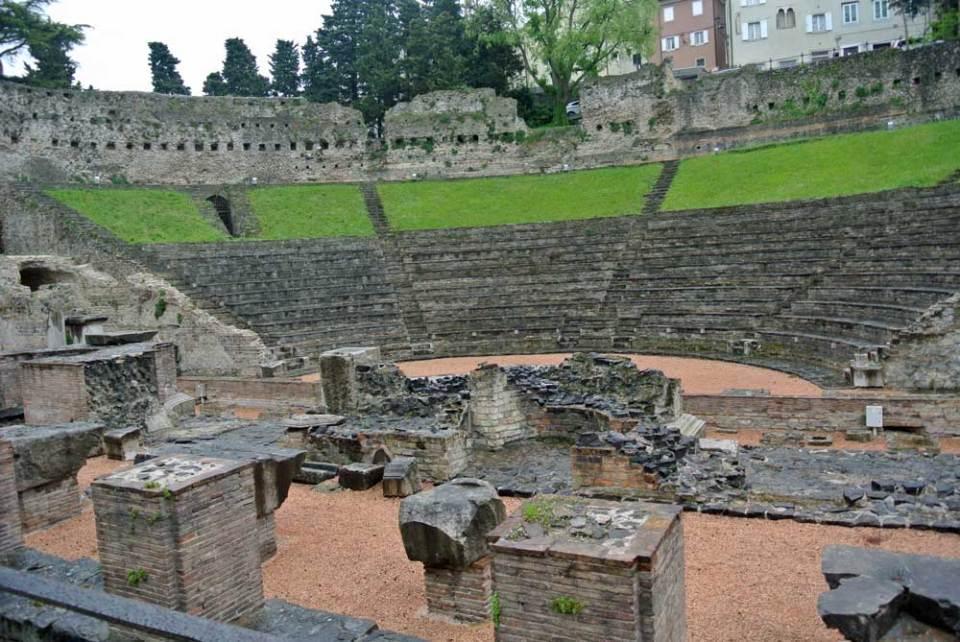 Teatro Romano di Trieste Triest