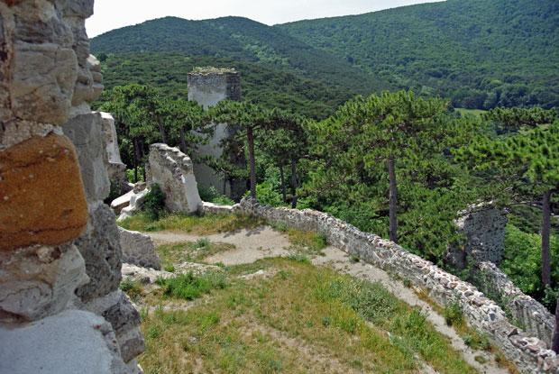 Blick von der Burg Mödling