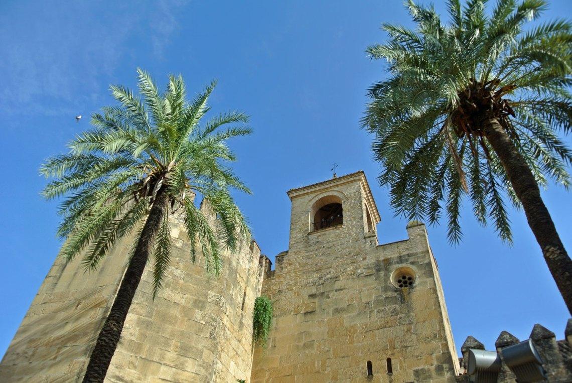 Alcázar de los Reyes Cristianos Cordoba Andalusien