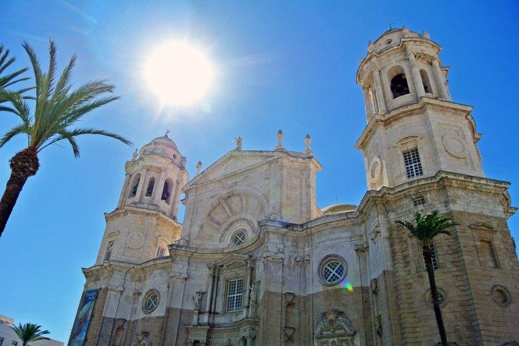 Catedral de Cadiz in Andalusien