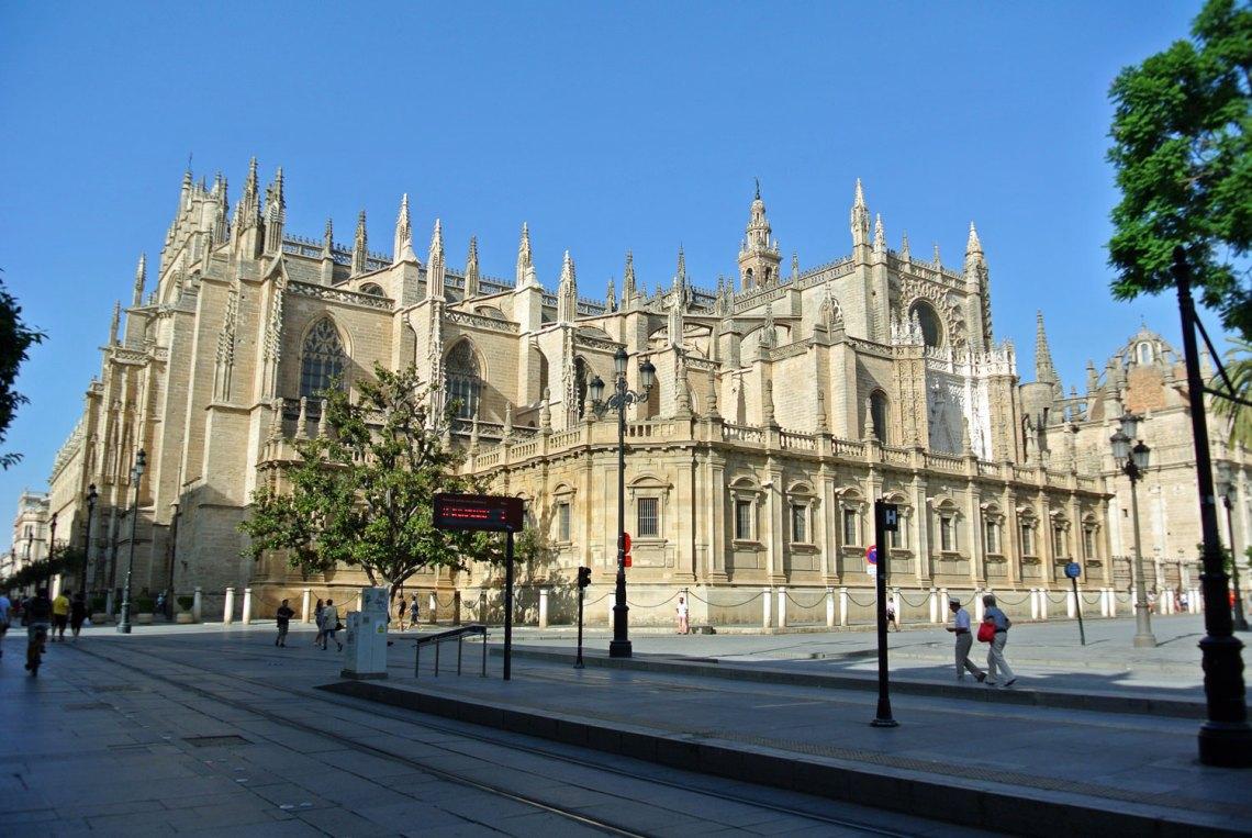 Catedral Giralda in Sevilla, Andalusien in Spanien