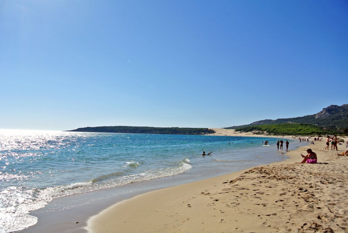 Playa Bolonia in Andalusien in Spanien