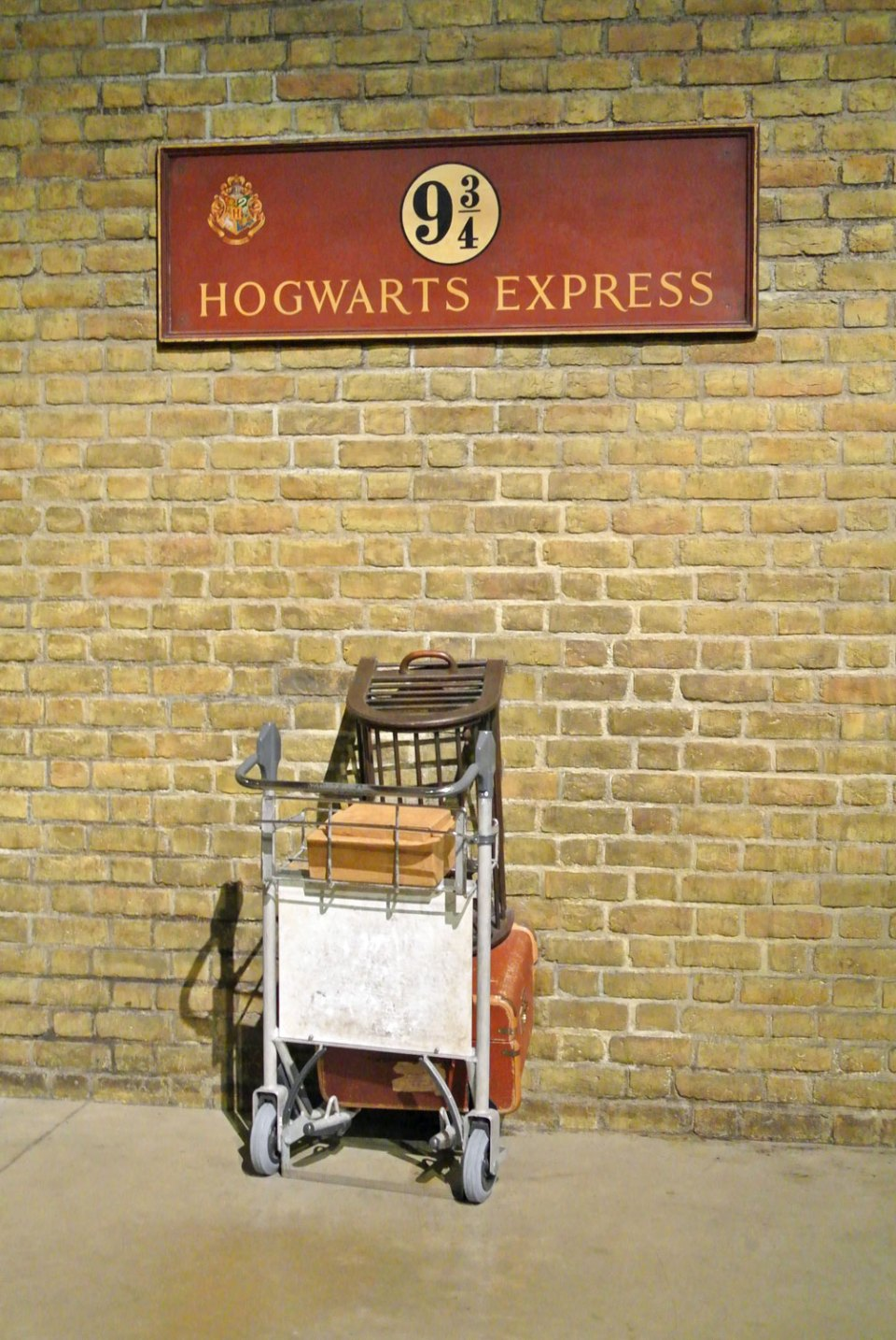 Harry Potter Studio Tour London Gleis 9 3/4