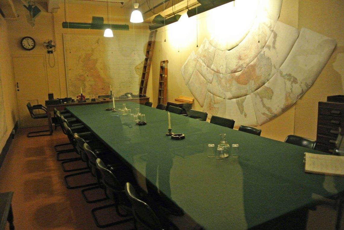 Churchill War Rooms London
