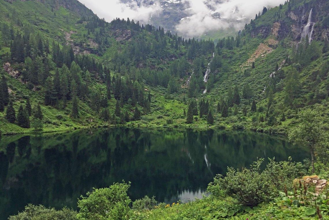 3-Seen-Wanderung in der Region Schladming-Dachstein, Hüttensee