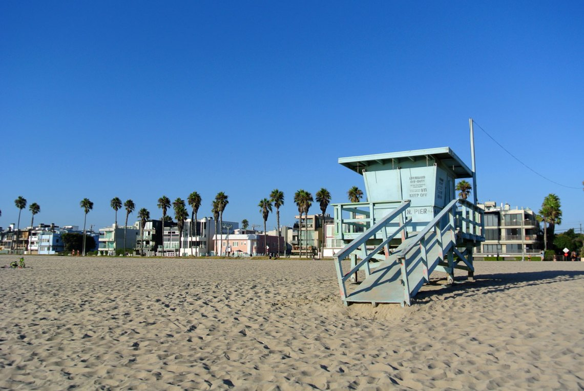 Venice Beach in Kalifornien, USA