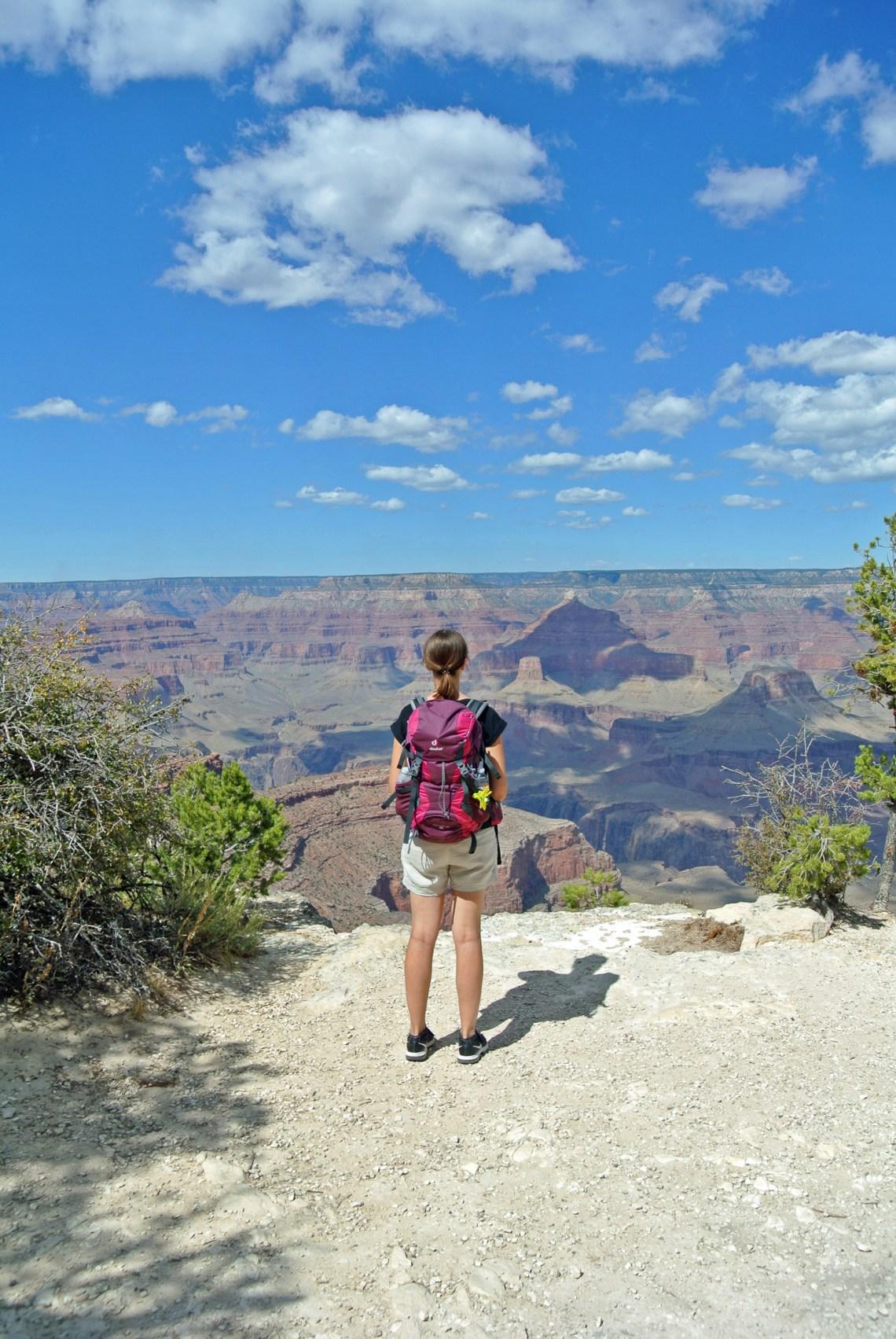 Aussicht am Grand Canyon